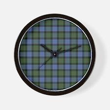 Tartan - Gunn Wall Clock