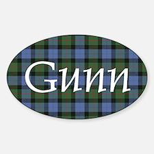Tartan - Gunn Decal