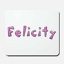 Felicity Pink Giraffe Mousepad