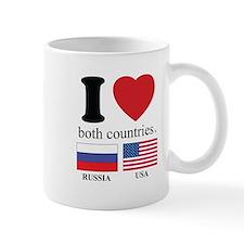 RUSSIA-USA Small Mug