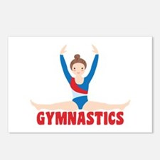 GYMNASTICS Postcards (Package of 8)