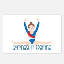 Gymnastics Training Postcards (Package of 8)