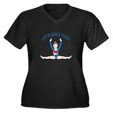 Gymnastics Coach Plus Size T-Shirt