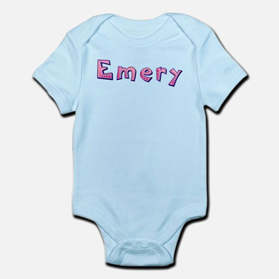 Emery Pink Giraffe Body Suit