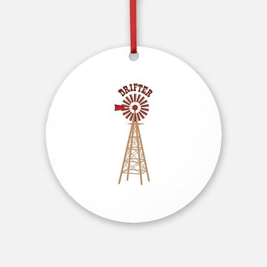 Drifter Ornament (Round)
