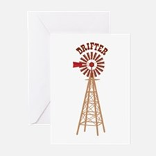 Drifter Greeting Cards