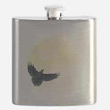 Raven Moon Flask