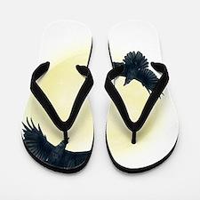 Raven Moon Flip Flops