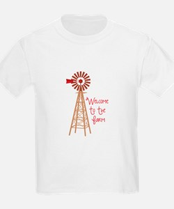 Welcome To The Farm T-Shirt