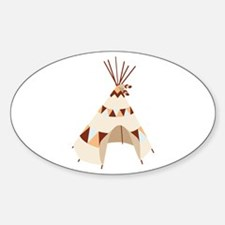 Teepee Tent Decal