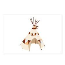 Teepee Tent Postcards (Package of 8)