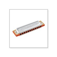 Harmonica Musical Instrument Sticker