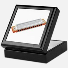 Harmonica Musical Instrument Keepsake Box