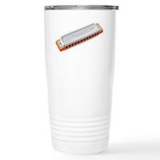 Harmonica Musical Instrument Travel Mug