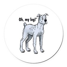 Drover Round Car Magnet