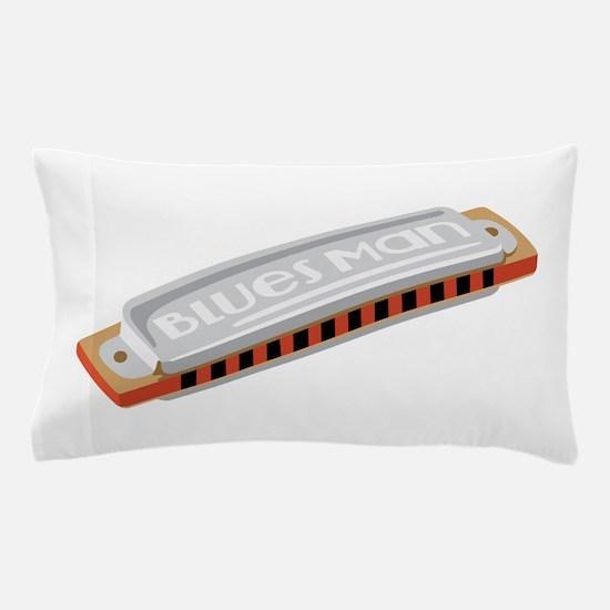 Blues Man Pillow Case