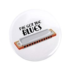 "Ive Got The Blues 3.5"" Button"