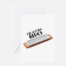 Ive Got The Blues Greeting Cards
