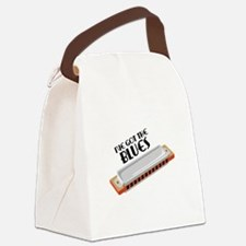 Ive Got The Blues Canvas Lunch Bag