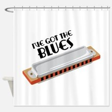 Ive Got The Blues Shower Curtain