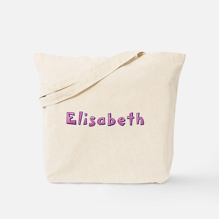 Elisabeth Pink Giraffe Tote Bag