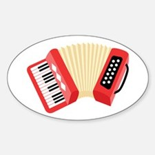 Accordion Musical Instrument Decal