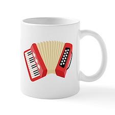 Accordion Musical Instrument Mugs