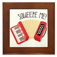 Squeeze Me! Framed Tile