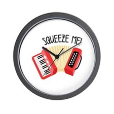 Squeeze Me! Wall Clock