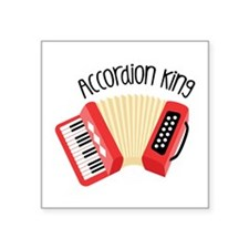 Accordion King Sticker