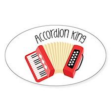 Accordion King Decal