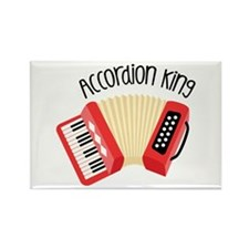 Accordion King Magnets