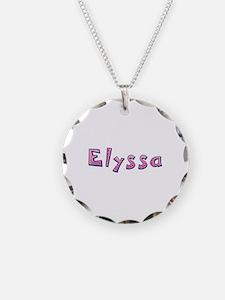 Elyssa Pink Giraffe Necklace