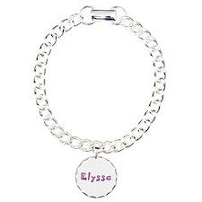 Elyssa Pink Giraffe Charm Bracelet