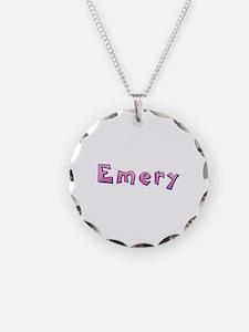 Emery Pink Giraffe Necklace