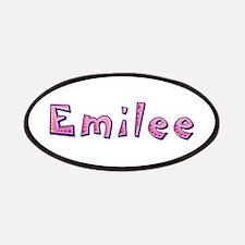 Emilee Pink Giraffe Patch