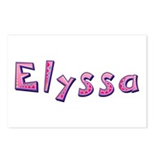 Elyssa Pink Giraffe Postcards 8 Pack