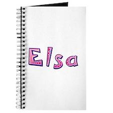Elsa Pink Giraffe Journal