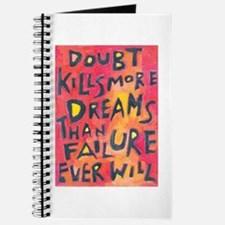 Doubt Kills Dreams Journal