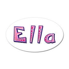 Ella Pink Giraffe Wall Decal