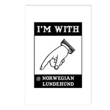 With the Lundehund Postcards (Package of 8)