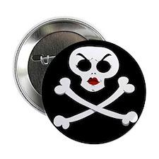 Sister Skull Button