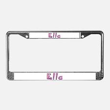 Ella Pink Giraffe License Plate Frame
