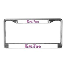 Emilee Pink Giraffe License Plate Frame
