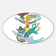 WILD WOMAN - LOVE YOURSELF FREE Decal