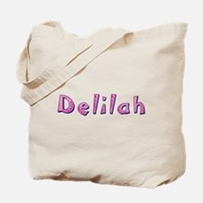 Delilah Pink Giraffe Tote Bag