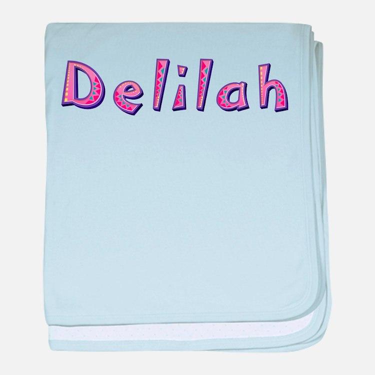 Delilah Pink Giraffe baby blanket