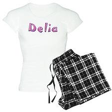 Delia Pink Giraffe Pajamas