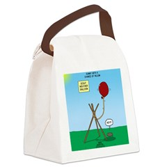 scout weather Canvas Lunch Bag