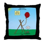 scout weather Throw Pillow